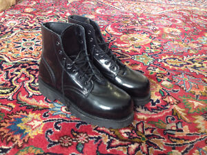 Genuine Leather Combat Boots