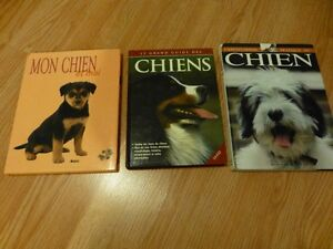 Livres sur les chiens avec photos