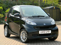 2010 10 Smart Fortwo 0.8 CDI Passion 2dr SATNAV+PANOROOF+AUX+B/TOOTH