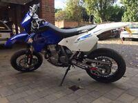 Suzuki DRZ400SM supermoto motorbike