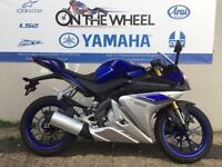 2016 YAMAHA YZF-R125 ABS RACE BLU BLUE, BRAND NEW! ON THE ROAD