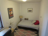 $470 fully furnished bedroom, bright Apt -from now - MILE END