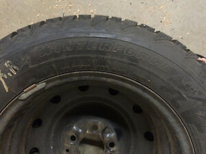 Honda Pilot Tire with Rims (4)