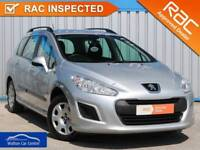 Peugeot 308 1.6 Hdi Sw Access 2012 (62) • from £20.85 pw