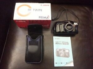 Cann PRIMA BF TWIN Camera AiAF Canon lens 38/80mm