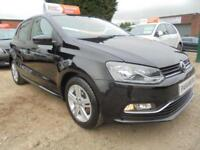2016 16 VOLKSWAGEN POLO 1.0 MATCH 5DR 60 BHP FINANCE WITH NO DEPOSIT AND NOTHING