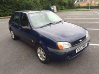 2001 Y Reg Ford Fiesta Blue Manual 5 Door Long MOT