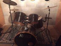 Mapex V series drum kit plus a Dixon double pedal