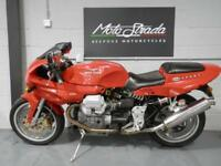 "MOTO GUZZI 1100""SPORT"" fuel injection RED 1998 R"