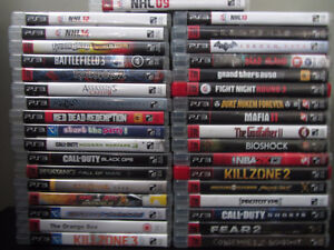 Various PS3 games $5/game