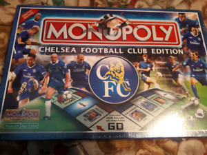 RARE!!! Chelsea Football Limited Edition Monopoly