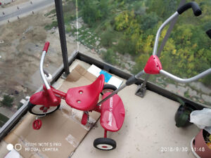 Radio Flyer Cycle with all attachments for $30