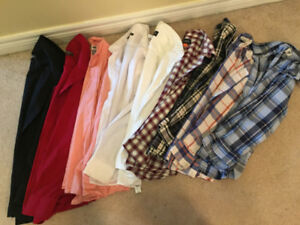 Size 12 dress shirts and dress pants for sale