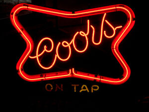 Neon Coors Sign London Ontario image 1