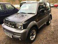 STUNNING SUZUKI JIMNY JLX+ 1 OWNER FROM NEW ONLY 39,000MILES TOP SPEC 2007