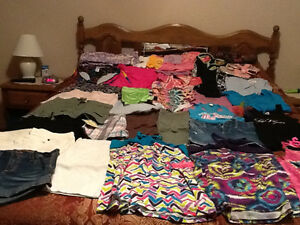 Girls Size 10/12 Spring & Summer Clothing - Retails $250