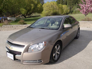 2008 Chevrolet Immaculate Malibu Sedan Leather/Suede interior