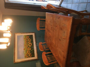 Buffet,table,6 chaises