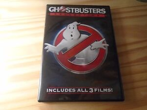 ALL 3 GHOSTBUSTER MOVIES....WATCHED ONCE
