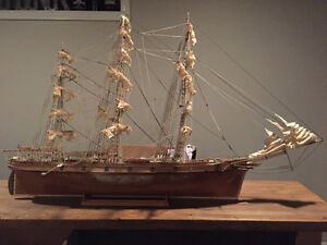 Handcrafted Scale model of the Cutty Sark  - FREE