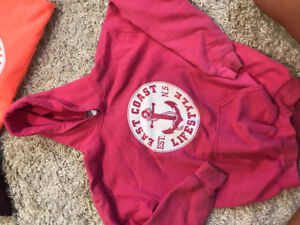 Girls East coast lifestyle hoodie