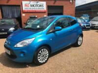 2010 Ford Ka 1.2 Zetec, Blue 3dr Hatch, LOW MILES **ANY PX WELCOME**