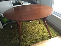 Midcentury Modern Round Dining Table £200