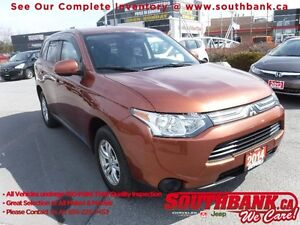 2014 Mitsubishi Outlander ESAWC, Heated Seats and Much More!