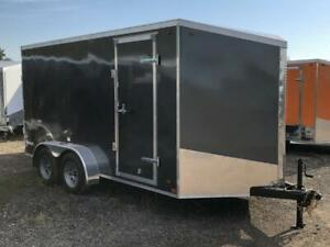 Miska Streamline 7x14 Canadian Made Enclosed Trailer