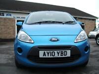 2010 Ford Ka 1.2 Style + 3d **£20 Tax / NEW MOT**