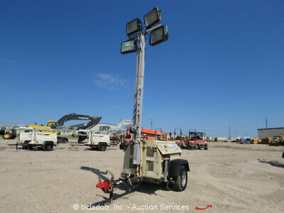 2010 Ingersoll Rand Ls-60hz-t4e Towable Light Tower Kubota Diesel - Repair