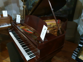 Steinway Model A grand piano rosewood fully rebuilt for sale