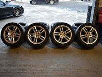 "18"" Original Genuine OEM Audi Q3 S-Line Alloy Wheels & Tyres"