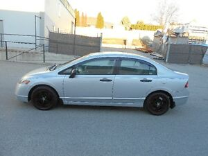 2006 Honda Civic 5 Speed Only 133000KMS Great Car Sedan