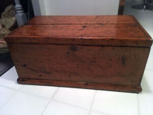 Antique chest / Wooden box