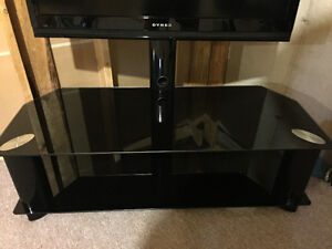 Tech Craft TV Stand w/ Shelves TRK50B Kitchener / Waterloo Kitchener Area image 3