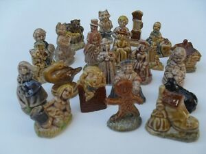24 Piece small porcelain figurines that came in Red Rose Tea Cornwall Ontario image 4
