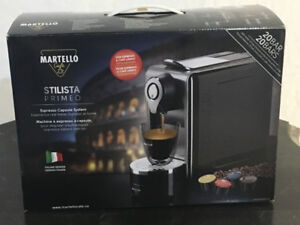 Martello coffe maker: BNIB