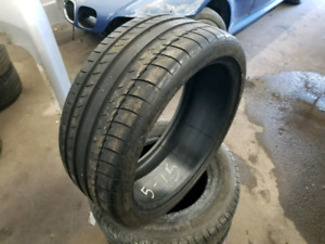 245 35 ZR19. MICHELIN PILOT SPORT. ONLY ONE TIRE.