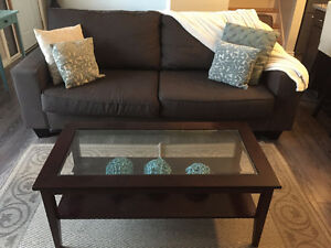 Beautiful Charcoal Grey Couch for Sale