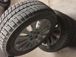 205/55r16 Subaru Impreza almost brand new winter Tires&rims