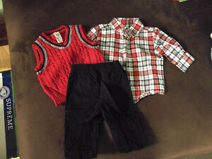 Baby Boy Dress Outfit 0-3mths