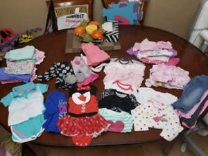 Baby girl clothing 3 to 6 months