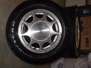 Goodyear Nordic M+S Winter Tires w/rims