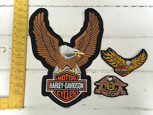 Harley Davidson motorcycle patches