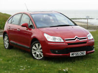 Citroen C4 2.0HDi Exclusive**1 OWNER**28,000 MILES FROM NEW**SAT NAV**SUNROOF**