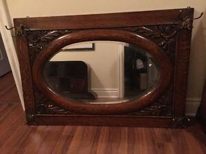 Miroir antique pour vestibule
