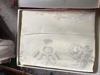 Queens coronation table cloth