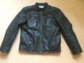 Reiss Quality Black Bomber Jacket