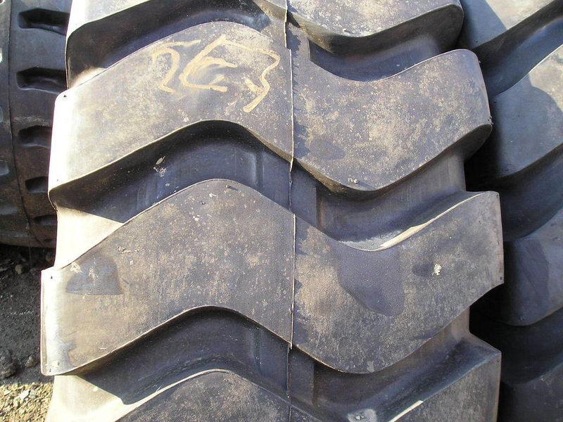 (2-tires) 23.5-25 Rock Earth-mover Loader Tire 20 Pr E3 L3 Samson Advance 23525